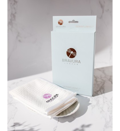 Bravura Dermaflannel Exfoliator for Face & Body