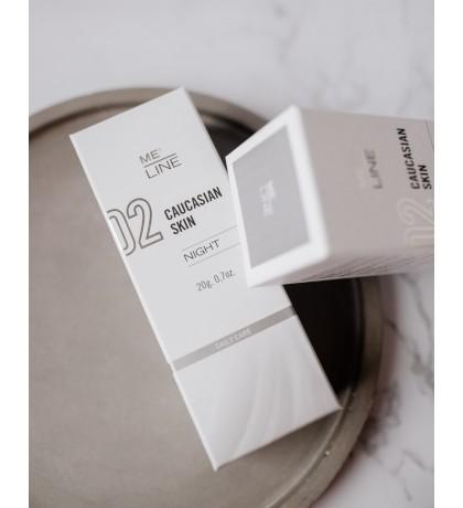Innoaesthetics 02 Me Line Caucasian Skin Night 20 ml